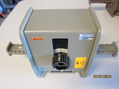 HP P382A Rotary Vane Waveguide Attenuator 8-12GHz Looks Great-Works Fine WR90