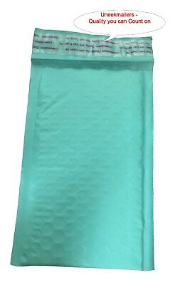 250 4x8 Teal Poly Bubble Mailer Envelope Shipping 4x8 Air Mailing Bags Turquoise