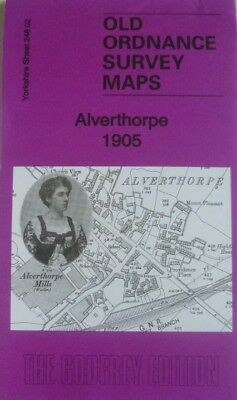 OLD Ordnance Survey Maps Alverthorpe Yorkshire 1905 Sheet 248.02 Brand New