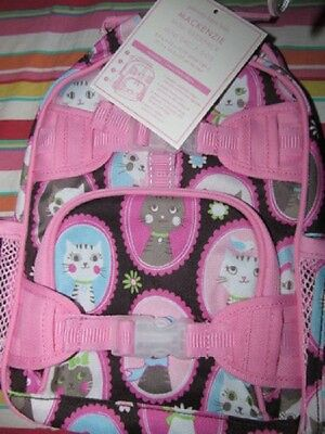 Pottery Barn Kids Mackenzie Chocolate Kitty Backpack Pre K  New Sold Out At Pbk