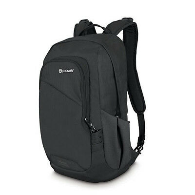 "15L BLACK Pacsafe Venturesafe 15L GII Anti-Theft 13.3"" Laptop/Tablet Backpack"