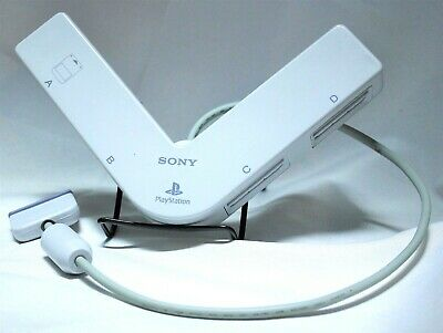 Sony Playstation One PS1 4 Player Multi-Tap Accessory Original OEM WHITE