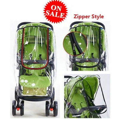 USA Rain Cover Raincover For Universal Buggy Pushchair Stroller Pram Baby Car