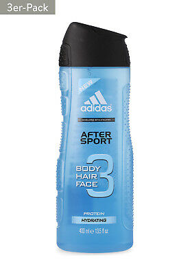 3x 400 ml 1200adidas Duschgel After Sport 3in1 [4,15€*/1L]