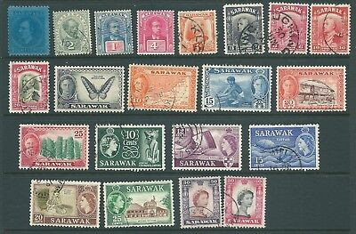 SARAWAK Mint & used stamp collection
