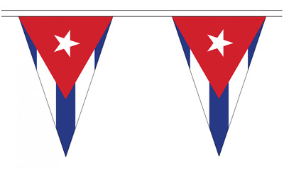 Triangular Belgium 5M Triangle Flag Bunting 12 Flags
