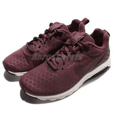 a0fe05f63bb Nike Wmns Air Max Motion LW SE Low Night Maroon Women Running Shoes 844895 -600