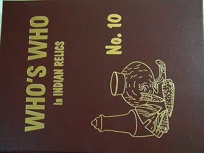 Unused First Edition Copy Of Who's Who In Indian Relics No. 10, 2000