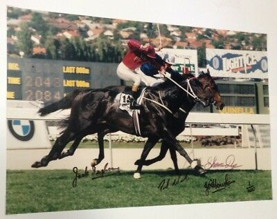Rare Signed Limited Edition No.1 Of 100 Octagonal Cox Plate Photos & Plaque