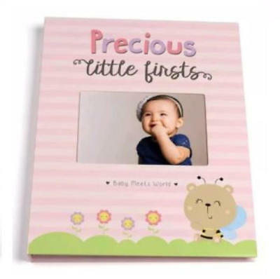 Baby Memory Book for Girls First Five Years 9 Inch x 11.5 Inch
