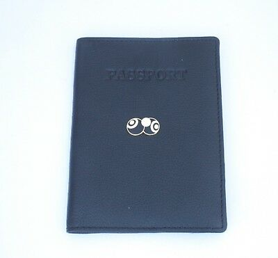 Bowls and Jack Black Enamel Real Leather Passport Holder Sports gift 040