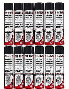 12x Holts Professional Brake Clutch & Parts Cleaner Degreaser 600ml 100% Solvent