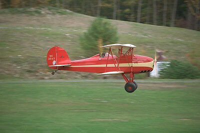 1/8 Scale Great Lakes Trainer Biplane Plans and Templates 39ws