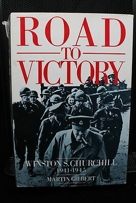 WW2 British Road To Victory Winston Churchill 1941 to 1945 Reference Book
