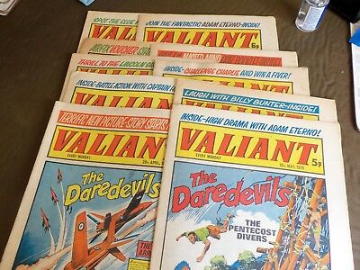 10 Valiant Comics 1975