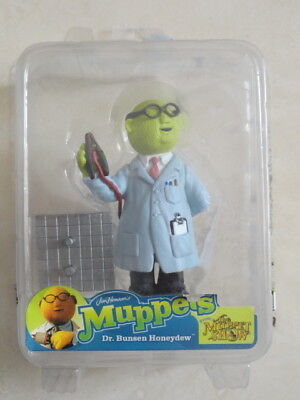Muppets Palisades mini Dr Bunsen Honeydew 3-inch figure RARE FREE SHIP