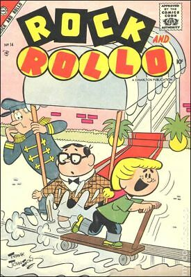 Rock and Rollo #14 1957 VG- 3.5 Stock Image Low Grade