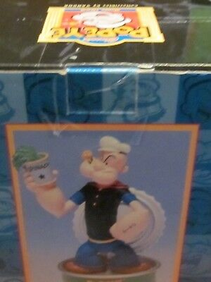 Popeye I Yam What I Yam Figure Spinach Can Bobber 2002 King Features NIB MINT