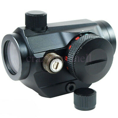 NXcross Mini Holographic 3 MOA Red/Green Dot Sight Rifle Laser Scope Japan Made