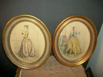 Antique Gilt Wood French Fashion Ladies Paris Apt Chic Shabby Large Glam