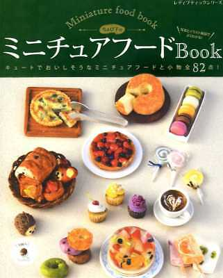 Polymer Clay Miniature Food Book- Japanese Craft Book