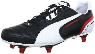Puma Momentta Sg Adults Black/white/red Boots