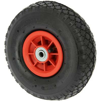 """10""""  3.00-4 Spare INFLATABLE PNEUMATIC Wheel for Carp Fishing Trolley Sack Truck"""