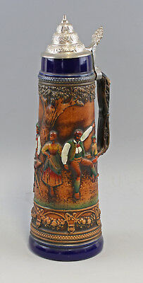 "8248080 Large Relief Beer Mug "" Dance on the Alm "" Gerz"