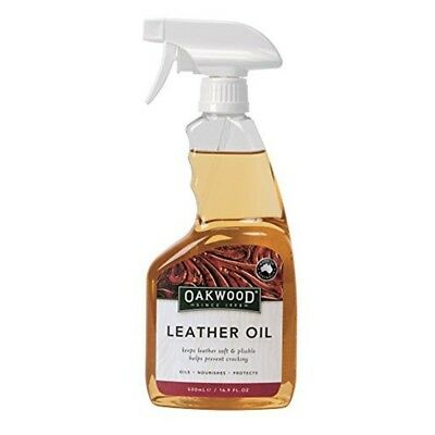 Oakwood Leather Oil One Colour 500ml - All Tack Bn