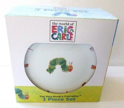 Royal Worcester Pottery The Very Hungry Caterpillar BOXED BREAKFAST SET E Carle