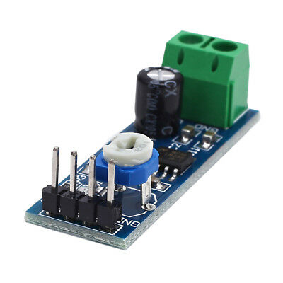 LM386 DC 5V-12V Mini Micro Audio Amplifier AMP Board Module HIFI DIY HF