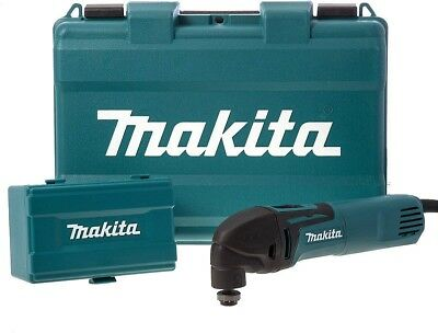 Makita TM3000CX3 110 V Multi Tool With Accessories In A Carry Case
