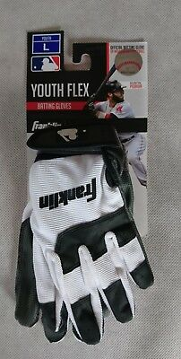 Franklin Batting Glove Youth-Flex - Youth - Gr. L - Baseball-Handschuh weiß