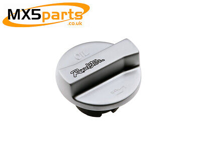 MX5 Engine Oil Filler Cap Brushed Satin Mazda MX-5 Mk3 3.5 3.75 & Mk4 2005>