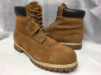 separation shoes 79e0b 942a3 Timberland Men s 6-Inch Premium Waterproof Rust Nubuck Boots US Size 13M   72066