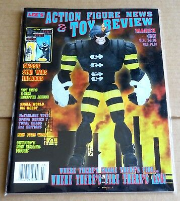 LEE'S ACTION FIGURE NEWS & TOY REVIEW  No 53  MAR 1997  CLASSIC STAR WARS, X-MEN