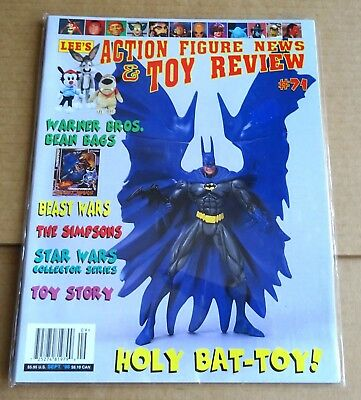 LEE'S ACTION FIGURE NEWS & TOY REVIEW  No 71  SEPT 1998  STAR WARS, BEAST WARS