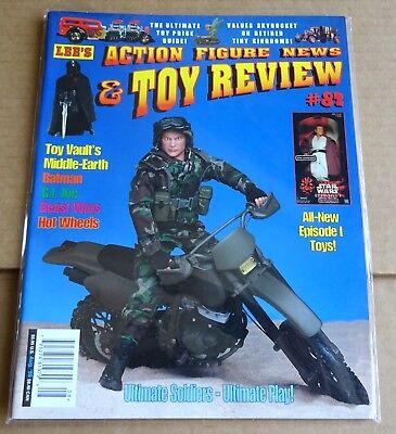 LEE'S ACTION FIGURE NEWS & TOY REVIEW  No 82  AUG 1999  BATMAN,  BEAST WARS