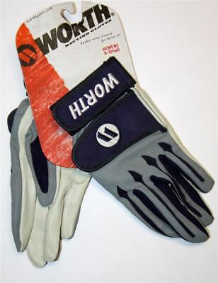 WORTH Women's Collegiate Fast-Pitch Batting Gloves Baseball Softball X-SM  NEW