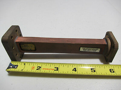 Andrew Waveguide Adapter transition WR75 Choke TO CPR90G 6 In Long