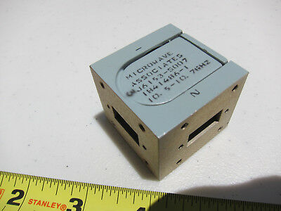 One Waveguide WR75 Circulator Isolator 10.55 - 10.70 GHz  3cm Band