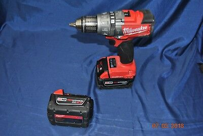 Milwaukee Hammerdrill W/2 Batteries No Charger 2706-20