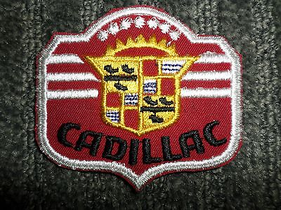 NOS Vintage Cadillac Patch - 3 inches x 3 1/4 inches