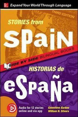 NEW Stories from Spain / Historias de Espana, Premium Third Edition By Genevieve