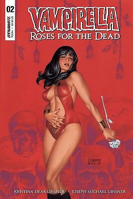 Vampirella Roses For Dead #2 (Of 4) Cvr A Linsner (Mr)  - 8/15/18