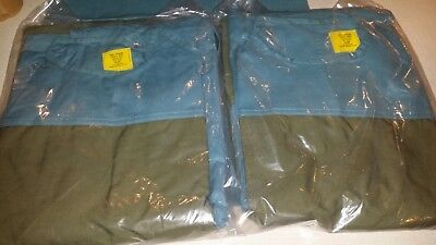 Lot 2 Surgical Green Operating Gown Size Medium 6532-00-083-6534 Medical Surgeon