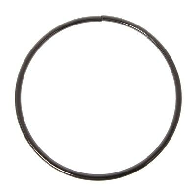 Metal O-rings Round Loop Leather Craft Buckle for Bags Purses Belt 12.5/11.3cm