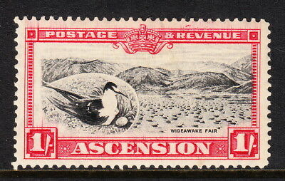 Ascension — Scott 30 (Sg 28) — 1934 Sooty Tern 1/- Pictorial — Mh — Scv $22.50