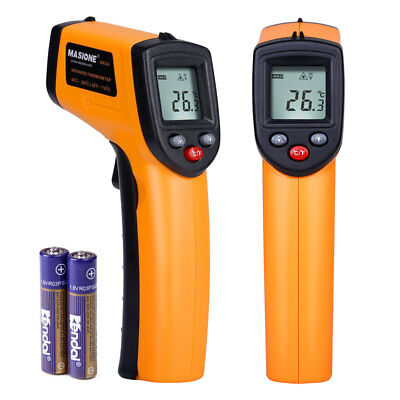 Temperature Gun Non-contact Digital Laser Infrared IR Thermometer FDA Approved