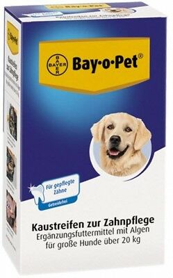 Bayer Trixie Chewing Stripes For Dental Care, Large Dogs, 140 G